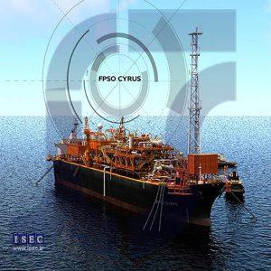 انیمیشن برخورد تانکر نفت کش به شناور